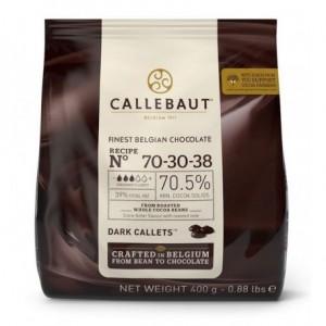 Callebaut. Chocolate amargo 70% 400 grs