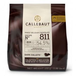 Chocolate semi amargo 54.5% . 400 grs. Callebaut