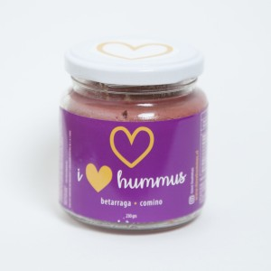 Hummus Betarraga - Comino I Love Hummus 230grs.