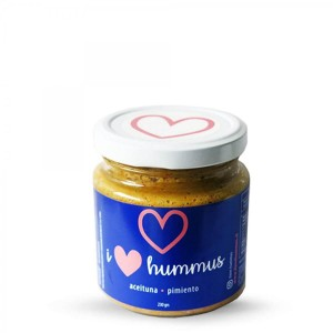 Hummus Aceituna - Pimiento 230 grs I love Hummus