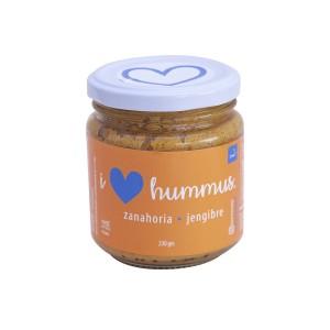 Hummus Zanahoria -Jengibre 230 grs I Love Hummus