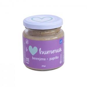 Hummus Berenjena -Paprika 230 grs I Love Hummus