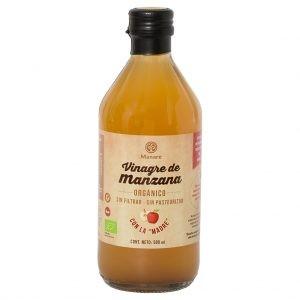 Vinagre de Manzana Orgánico Manare 500 ml