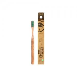Cepillo dental Bambu Kids Suave - Color Menta Biobrush