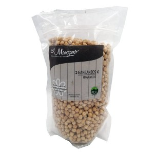 Garbanzo Organico 1 Kilo. El Manzano