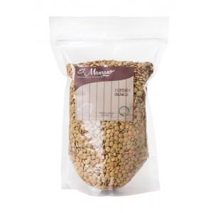 Lenteja Organica 1 Kilo. El Manzano