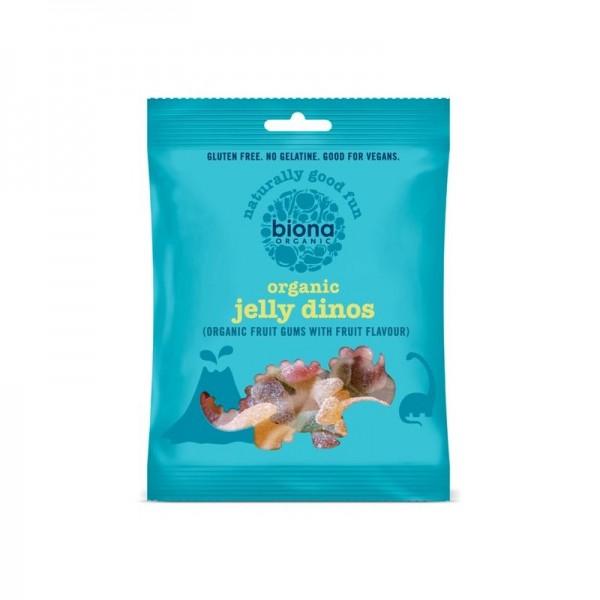 Gums organic jelly dinos 75 gramos Marca Biona