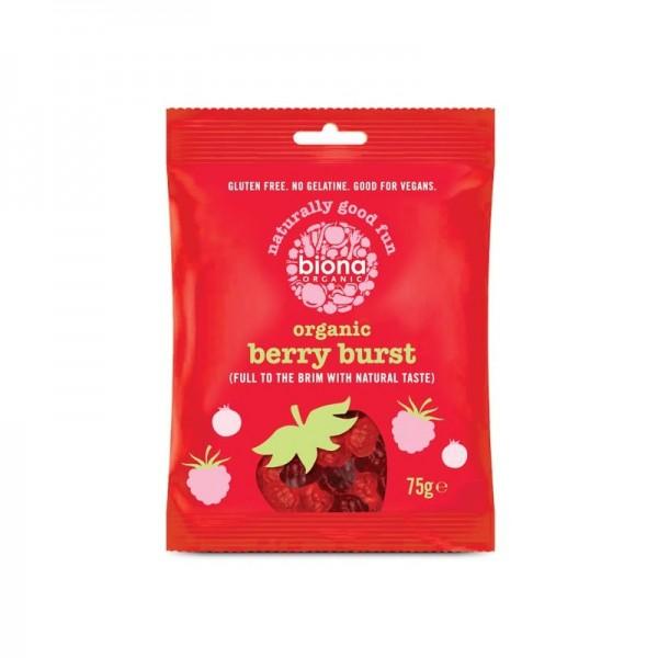 Gums organic berry burst 75 gramos Marca Biona