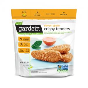 Nuggets sucedáneos de Pollo Veganos 7 Granos, 255 grs, Gardein