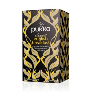 Infusion Elegant English Breakfast .Pukka.20 bolsitas