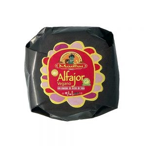 Alfajor con manjar de Soya. Madhu