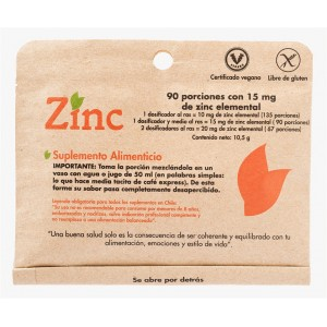 Zinc . Dulzura Natural