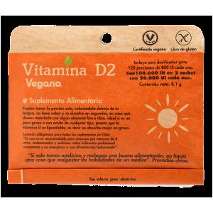 Vitamina D 2 Vegana Dulzura Natural