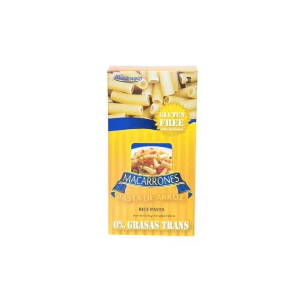 Pasta de Arroz Macarrones Blue Dragon