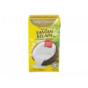 Leche de Coco Tetrapack Lady Coconut 1000 ml