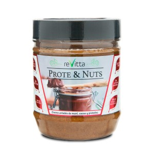 Protein Nuts crema untable 500grs. Revitta