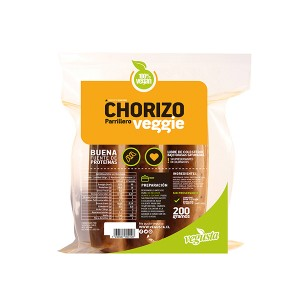 Chorizo vegano 03 unid. Vegusta