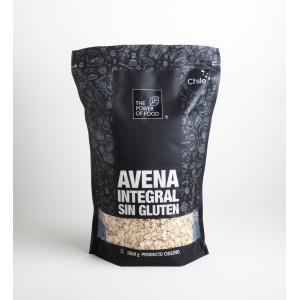 Avena sin Glúten grano entero machacado 1 kilo. The Power of Food