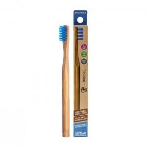 Cepillo dental Bambu Suave - Color Azul Biobrush