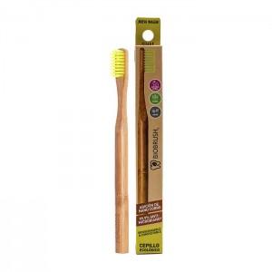 Cepillo dental Bambu Suave - Color Amarillo Biobrush