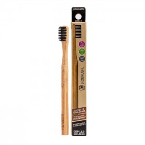 Cepillo dental Bambu Medio - Color Negro Biobrush