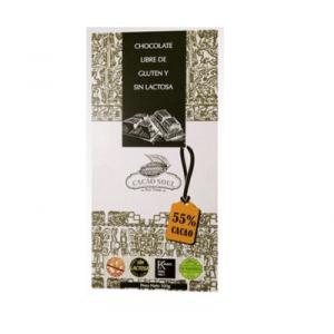 Chocolate Orgánico libre de gluten y sin leche 55% cacao soul