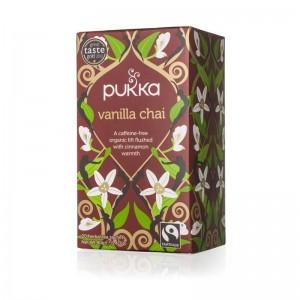 Vanilla Chai Pukka 20 Bolsitas