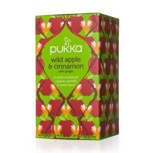 Infusión Wild Apple Cinnamon Manzana y Canela Pukka 20 bolsitas