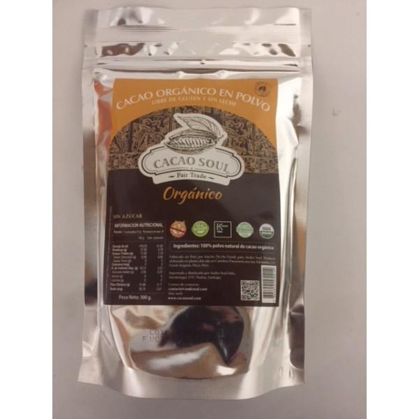Cacao Natural en Polvo 300g cacao soul