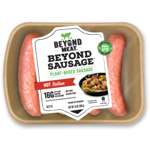 BEYOND MEAT THE BEYOND SAUSAGE - HOT ITALIAN