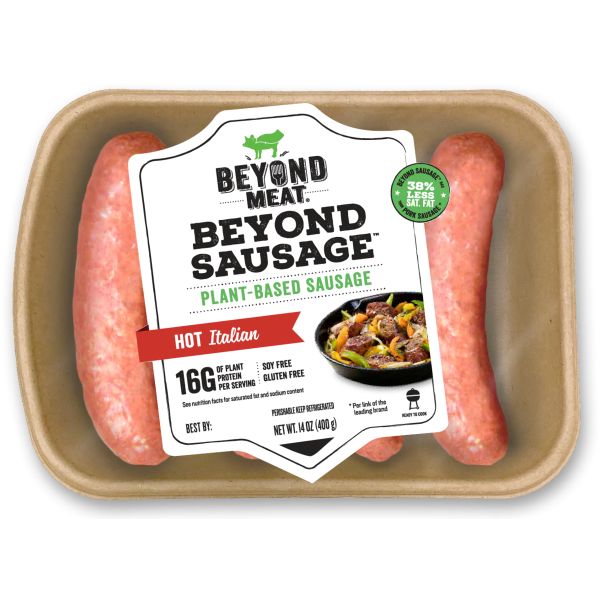 BEYOND MEAT THE BEYOND SAUSAGE - HOT ITALIAN Solo Venta en Tienda