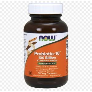 Probiotico 10-100 billones NOW